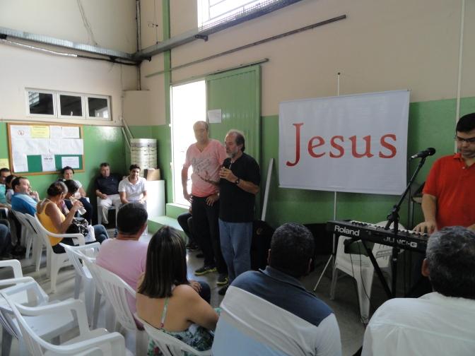 Evangelismo na Zunner Calçados, Nova Serrana, 14 de março de 2013