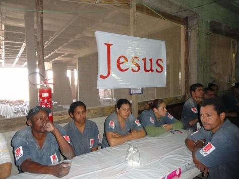 Evangelismo no ed Parque dos Ipês
