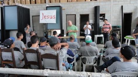 O Evangelho na Serralheria Integral