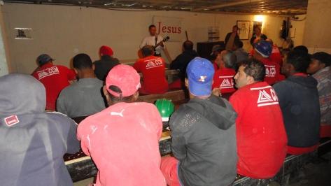 Palestra evangelística - Constr Centro Minas
