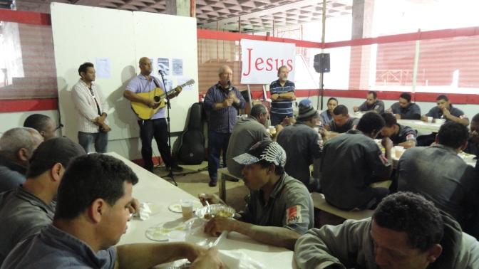 Almoço Evangelístico no Savassi Mall - PHV - 08nov13