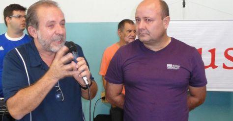 Pastor Cláudio Campi pregando o Evangelho
