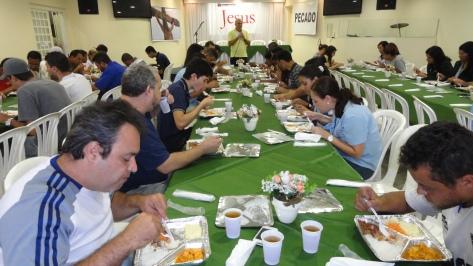 Almoço Evangelístico 08maio14,  no Barro Preto,