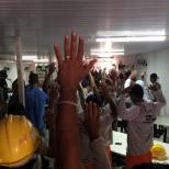 Dias 06 a 10 abril15, Cafés da manhã e almoços em Macaé, MRV (25)