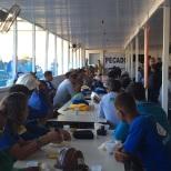 Dias 06 a 10 abril15, Cafés da manhã e almoços em Macaé, MRV (34)