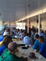 Dias 06 a 10 abril15, Cafés da manhã e almoços em Macaé, MRV (37)